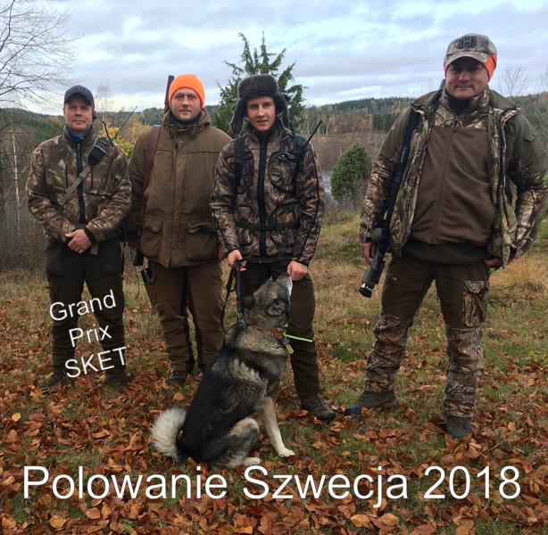 (Polski) Polowanie w Szwecji 2018.